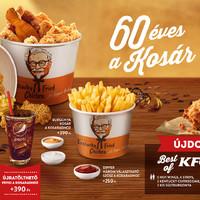 60 éves a KFC kosár