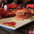 Angry Birds burgerek a Mekiben