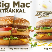 Big Mac extrákkal