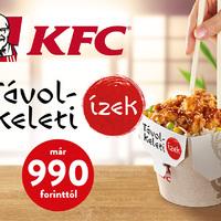 Ismét távol-keleti ízek a KFC-ben!