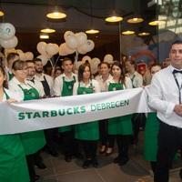 Debrecenben nyílt meg a második vidéki Starbucks