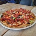 Dupla rétegű húsimádó pizzaszörny - Megagiga Supreme Pizza