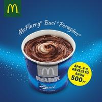 Hivatalosan is itt a tavasz: új McFlurry íz a Mekiben