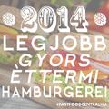 2014 legjobb gyorséttermi hamburgerei