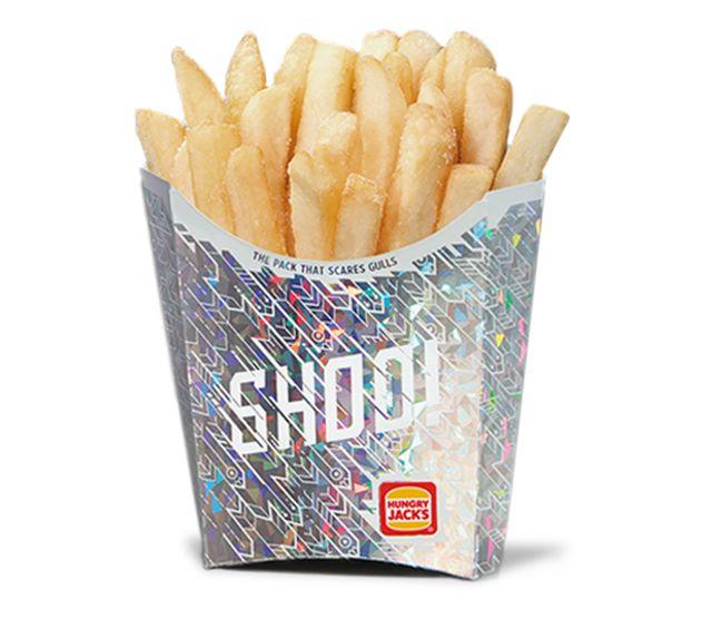 Sosem találod ki, miért ilyen csillogós ez a doboz sült krumpli!
