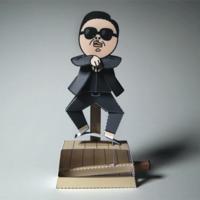 Gangnam papírmechanika