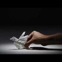 Döbbenetes zsebkendő origami
