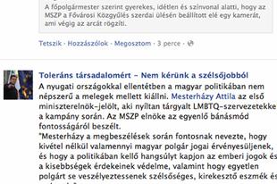 Tarlós és Horváth Csaba esete a Facebook-kal a műtőasztalon
