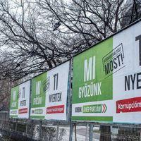Plakátmagány Budapest határában