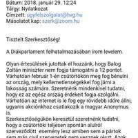 Meghamisították a diáktüntetések egyik szervezőjének email-címét és kamu sajtónyilatkozatot küldtek szét a nevében
