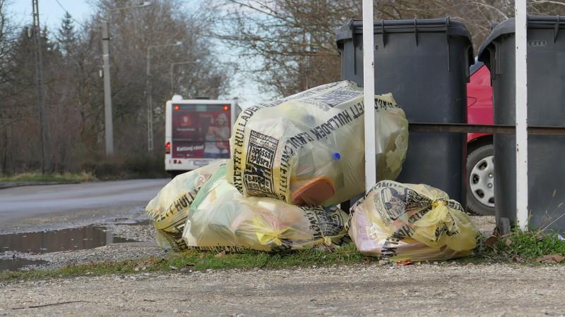 Házankénti szelektív kuka váltja a sárga zsákos hulladékgyűjtést