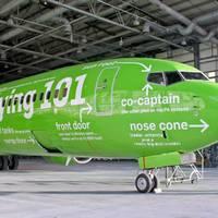 Vicces Boeing festés Dél-Afrikából