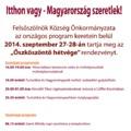 Programajánló - Felsőszölnök 2014. szeptember 27-28