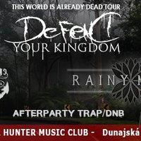 Ma este DEFEND YOUR KINGDOM, ELDRIDGE és RAINY MOOD koncert Dunaszerdahelyen!