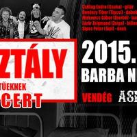 ZÁRTOSZTÁLY - nagykoncert a Barba Negrában
