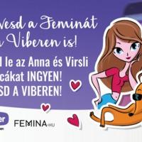 Elérhető a Femina.hu és a Viber közösségi csevegőfiókja és ingyenes matricacsomagja