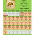 Kínai naptár 2011 február