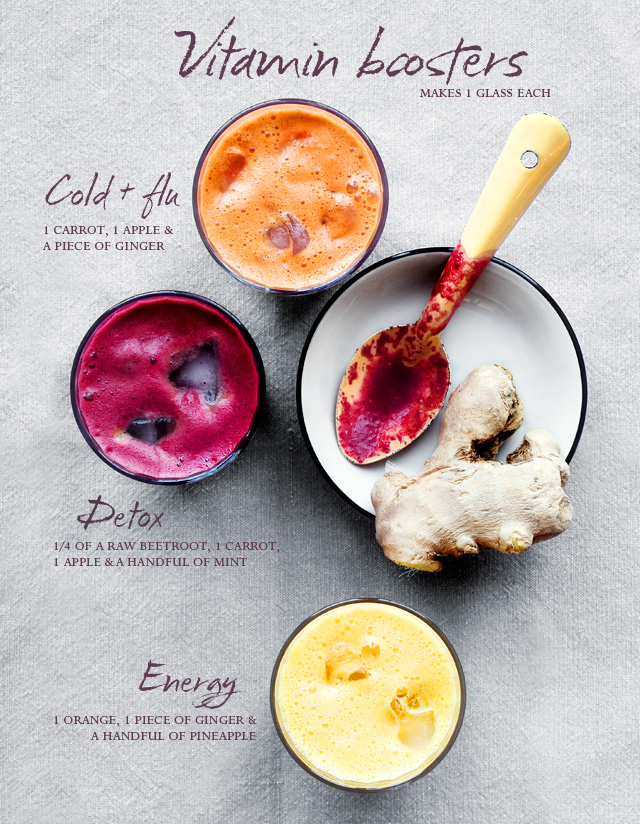 Kortyolj és pörögj: 3 energikus vitaminbomba