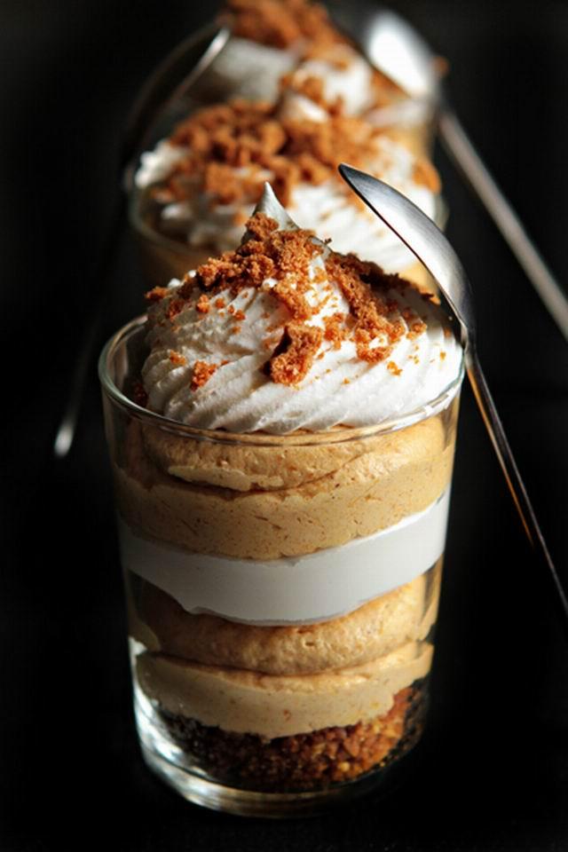 Egy finom desszert: sütőtökös sajttorta trifle