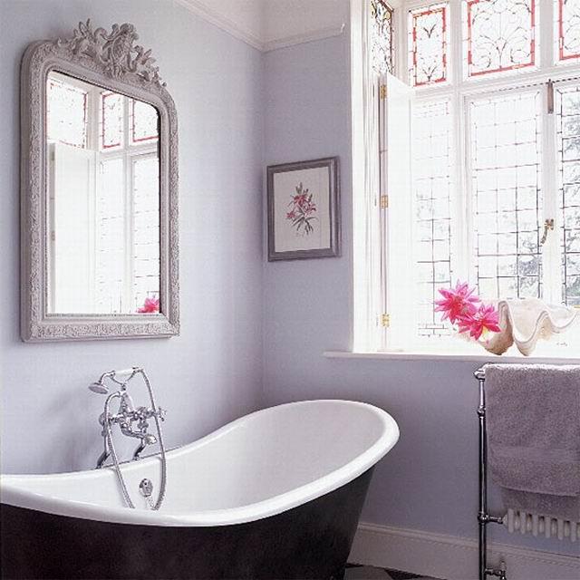 Lakberendezés mindenkinek: 33 lila fürdőszoba - Feng shui ...