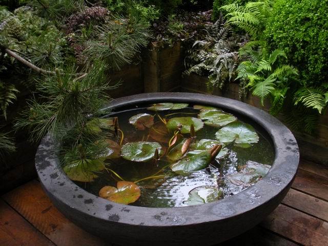 Így készül a mini kerti tó - 4 remek megoldás