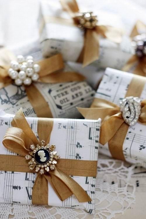 Wedding Gift Wrapping Ideas Pinterest : Ajandek csomagolas: 40 tipp a csoda egyszer?re - Feng shui trend