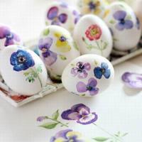 Csináld magad: szép virágos hímes tojások