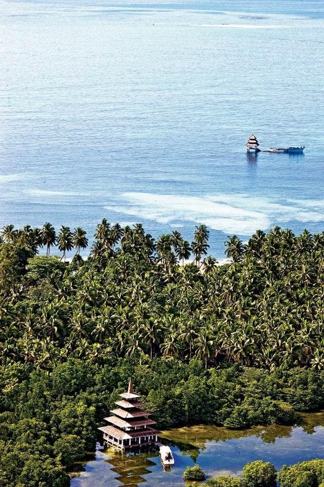 Mezítláb az óceán partján