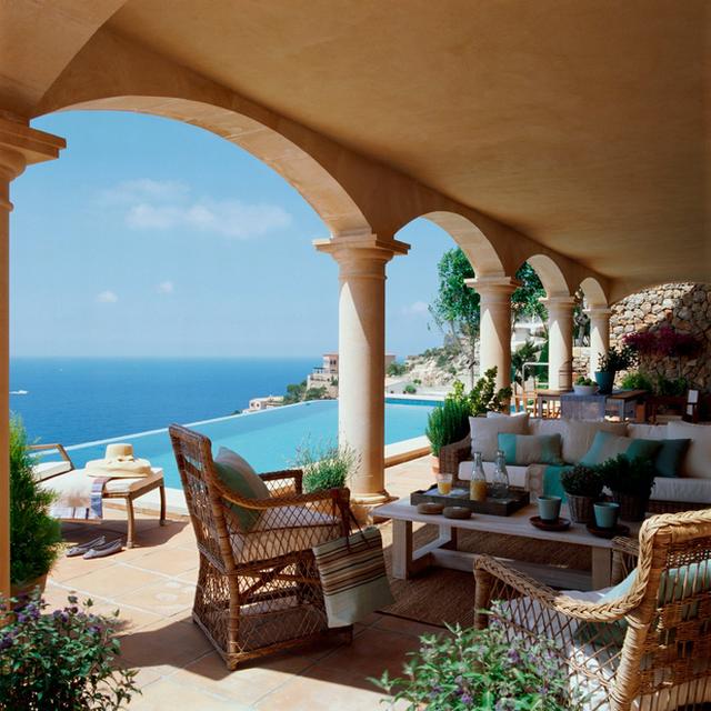 Mediterrán tornácok - a 21 legszebb