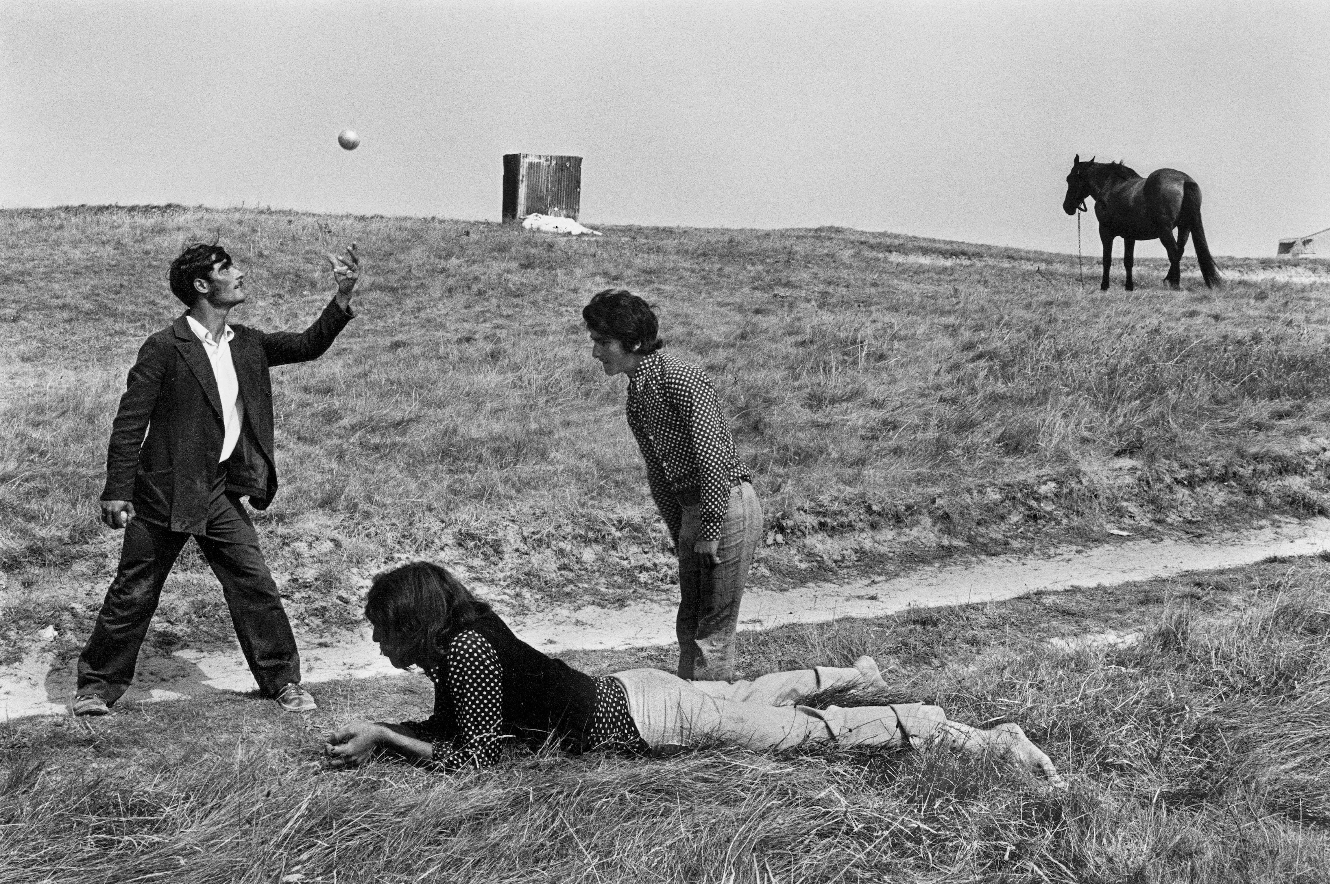 Josef Koudelka: Franciaország, 1973<br />© Josef Koudelka / Magnum Photos © Centre Pompidou
