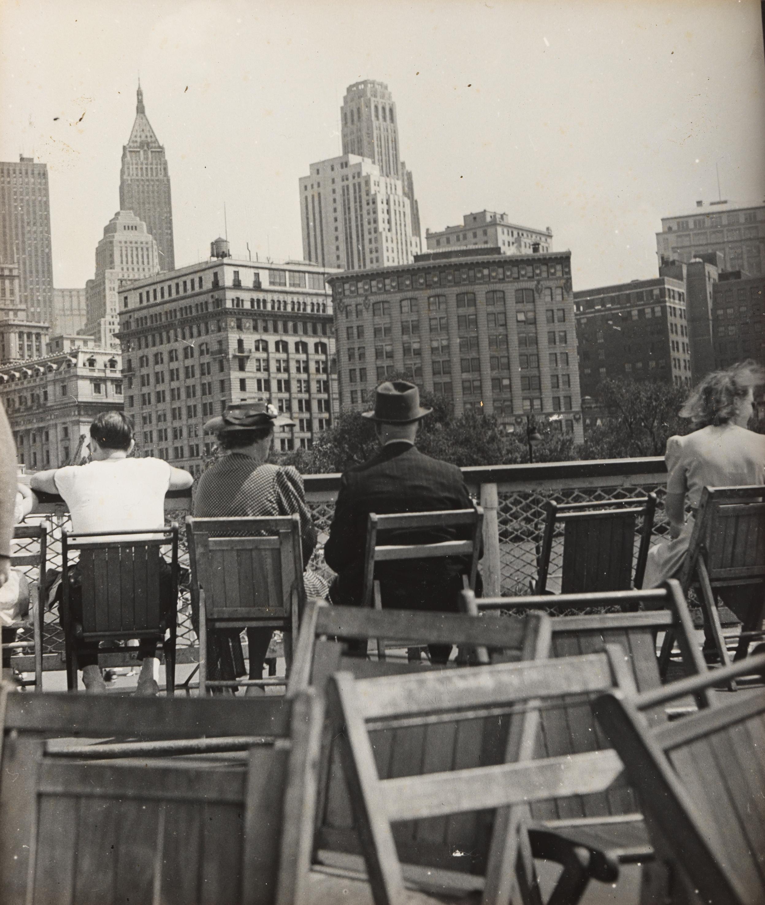 A kompon. New York, 1940. Robert Haas © Wien Museum/Sammlung Robert Haas