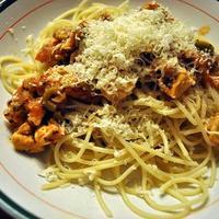Spaghetti Pollo avagy csirkés spagetti