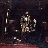 A Munkácsy festmények sötétedésének problémája