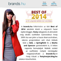 brands.hu cooperation - Best of 2014