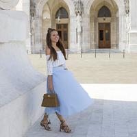A young talented bag designer Nini Molnar