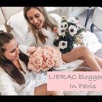 VLOG: LIERAC blogger trip in Paris