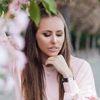 Spring watch by Fossil