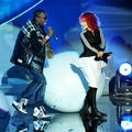 B.o.B és Hayley Williams @ 2010 MTV EMA