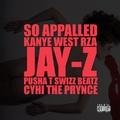 Kanye West f/ RZA, Jay-Z, Pusha T, Swizz Beatz, & Cyhi the Prynce – 'So Appalled'