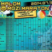 XII. Malom Mozi Maraton (2014 - nyár)