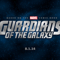 Guardians of the Galaxy logó és concept art