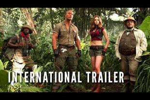 Nézd meg a Jumanji: Welcome To The Jungle előzetesét!