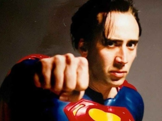 Mégis Superman lehet Nicolas Cage!