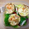 Tojás- tojásfehérje muffin sonka kosárban
