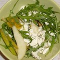 Körtés ruccola saláta