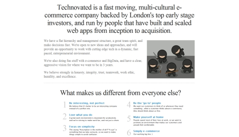 Technovated E-commerce