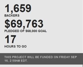 Kickstarter project info
