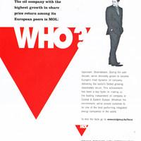 MOL reklám a Fortune magazinban