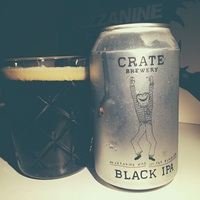 Crate Brewery Black IPA