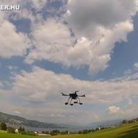 Filmezés és fényképezés multicopterrel